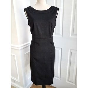 Valentino Bow Back Wool Cocktail Dress